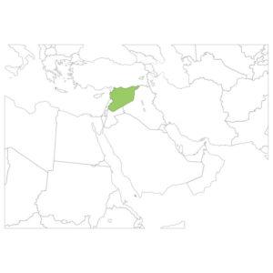 シリアの場所