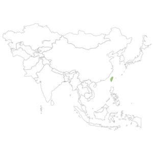 台湾の場所