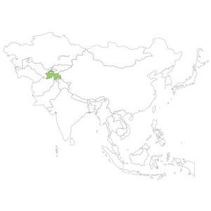 タジキスタンの場所