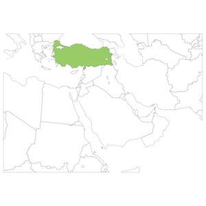トルコの場所