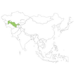 ウズベキスタンの場所