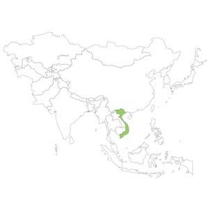 ベトナムの場所
