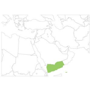 イエメンの場所