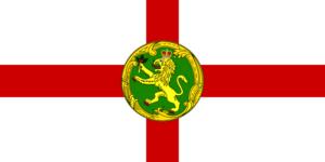 オルダニー島の旗