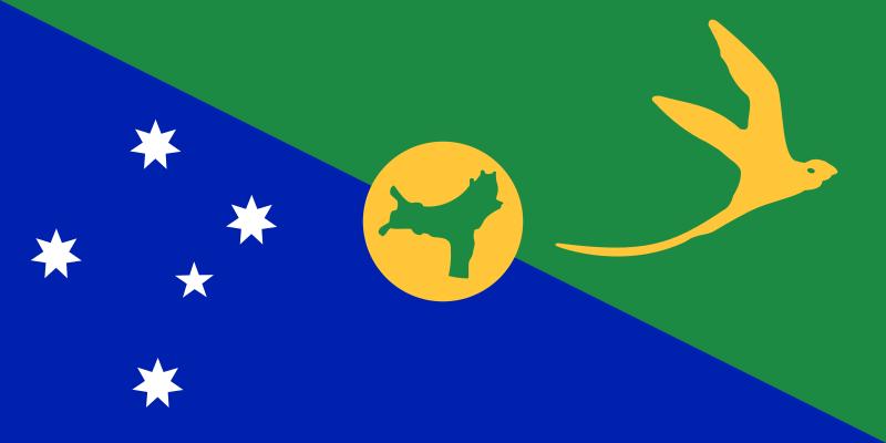 クリスマス島の旗