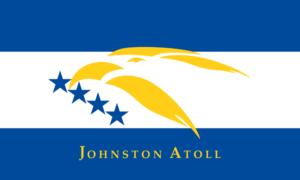 ジョンストン島の旗