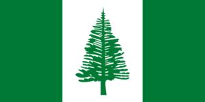 ノーフォーク島の旗