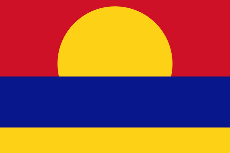 パルミラ環礁の旗