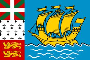 サンピエール島・ミクロン島の旗