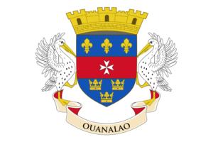 サン・バルテルミー島の旗