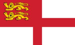 サーク島の旗