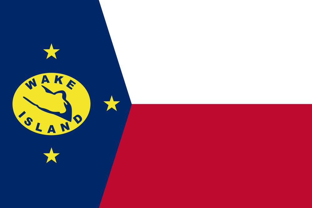 ウェーク島の旗