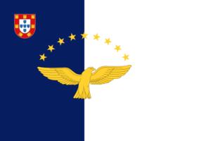アゾレス自治地域の旗