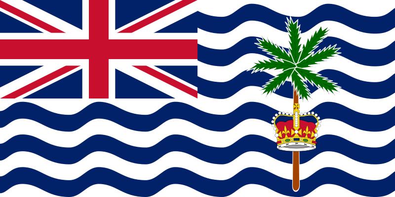 英国領インド洋地域の旗