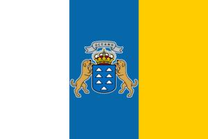 カナリア諸島の旗