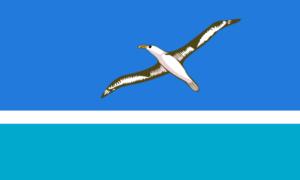ミッドウェー島の旗