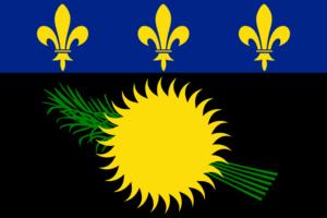 グアドループの旗