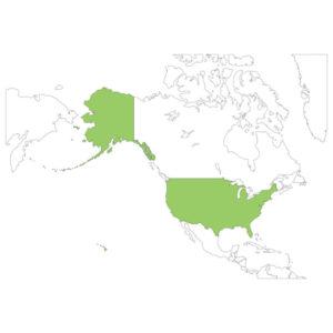アメリカの場所