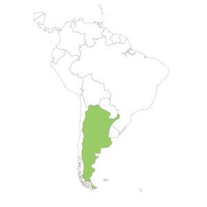 アルゼンチンの場所