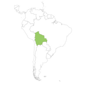 ボリビアの場所