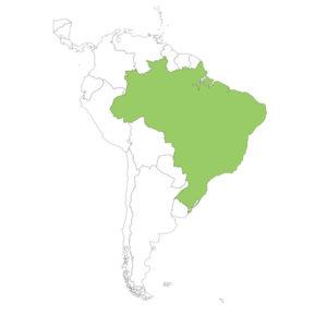 ブラジルの場所