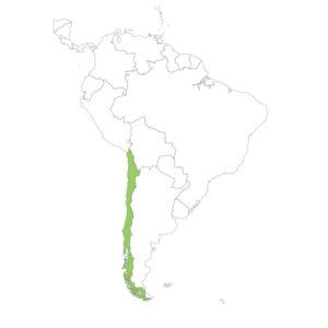 チリの場所