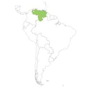 ベネズエラの場所