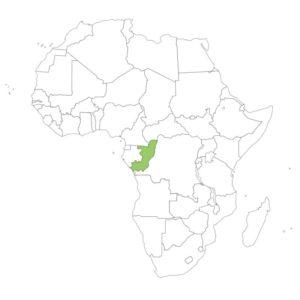 コンゴ共和国の場所