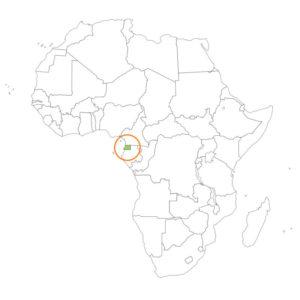 赤道ギニアの場所