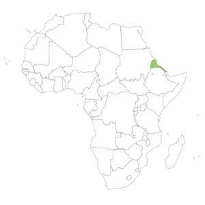 エリトリアの場所