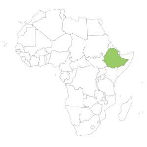 エチオピアの場所