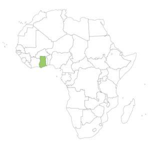 ガーナの場所