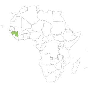 ギニアの場所