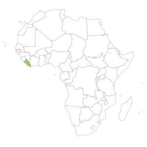 リベリアの場所