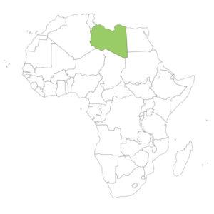 リビアの場所