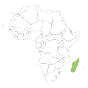 マダガスカルの場所