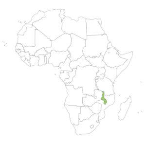 マラウイの場所