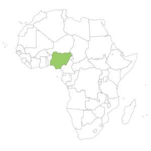 ナイジェリアの場所
