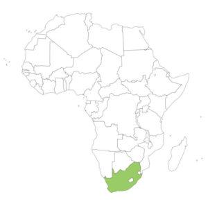 南アフリカの場所