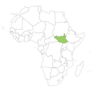 南スーダンの場所