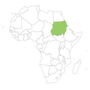 スーダンの場所