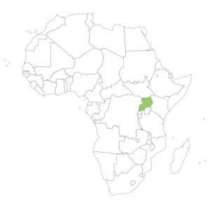 ウガンダの場所