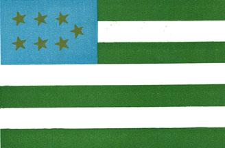 北コーカサス共和国の国旗(1915~1925)